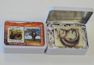 Coffret cadeau savon Karité-Baobab