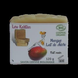 Savon Mangue Lait de Chèvre BIO