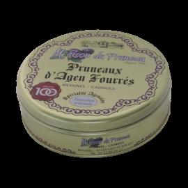 Boîte de pruneaux d'Agen fourrés à la crème de pruneaux
