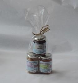 3 pots de miel de Lot-et-Garonne