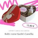 Coffret cadeau coeur Karité-Camélia